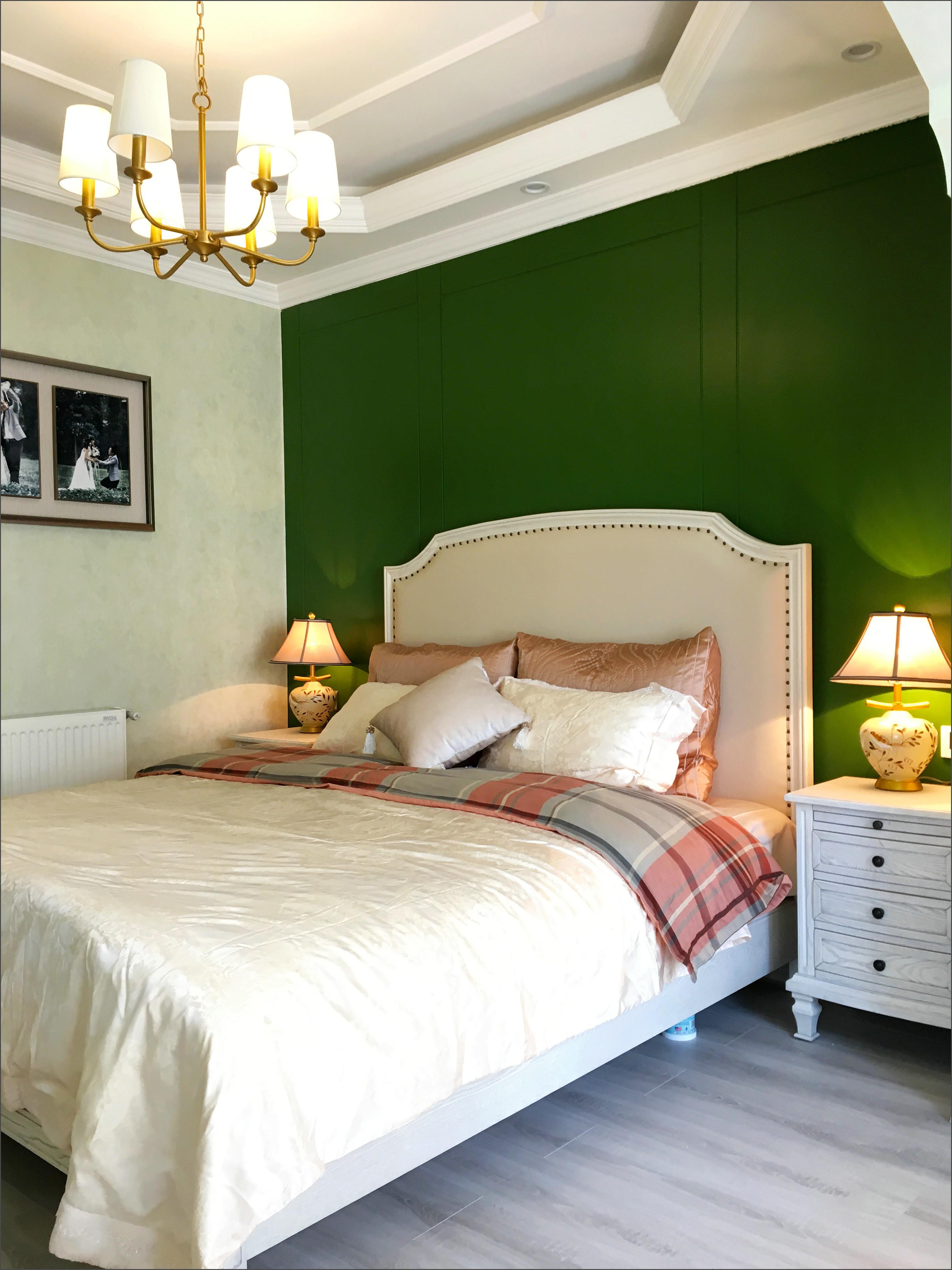 美式四居装修卧室设计图
