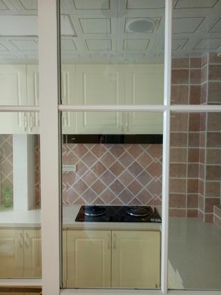 简约美式三居装修橱柜图片