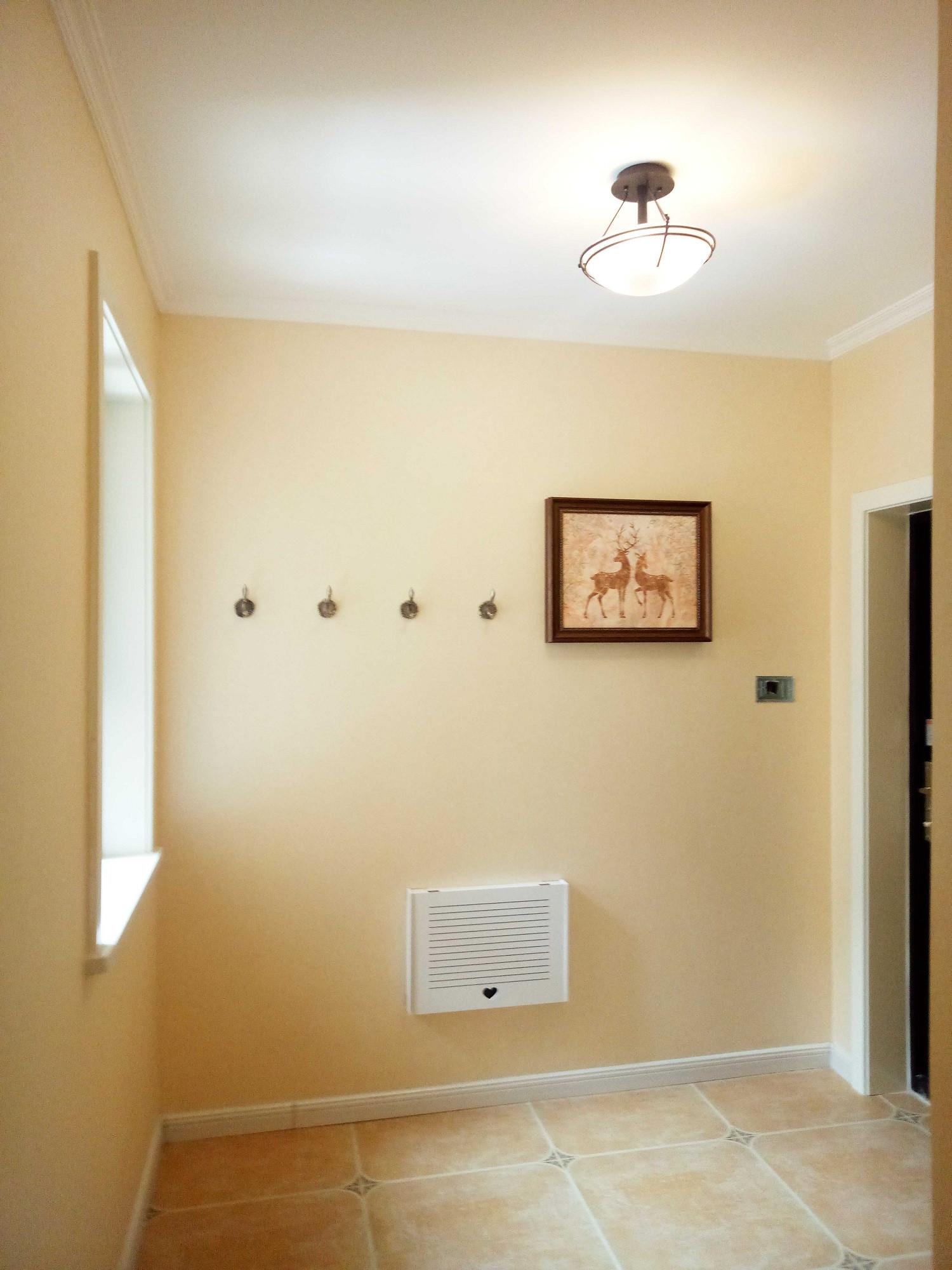 简约美式三居装修门厅图片