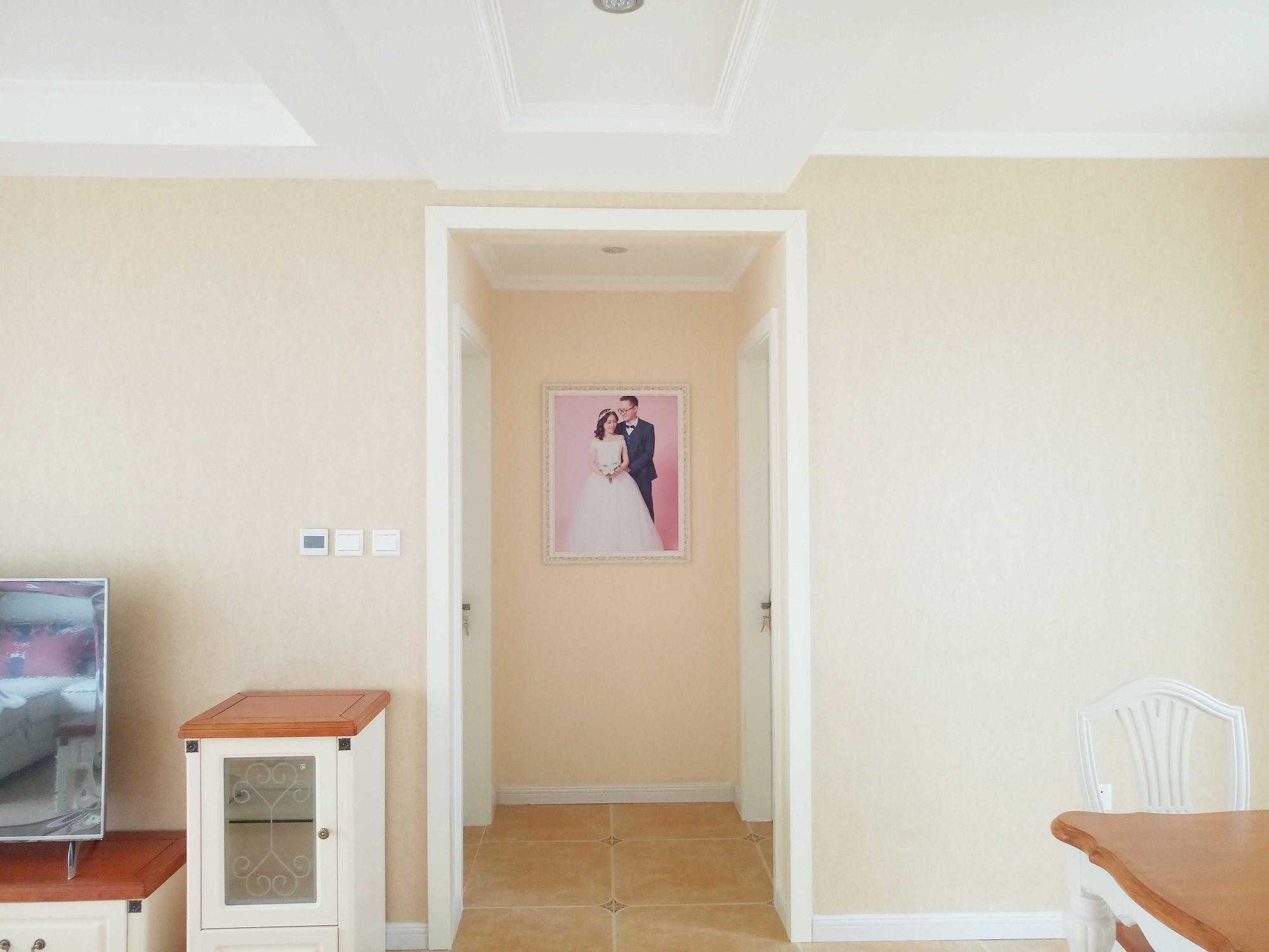 简约美式三居装修走廊图片