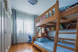 140平美式装修儿童房设计图