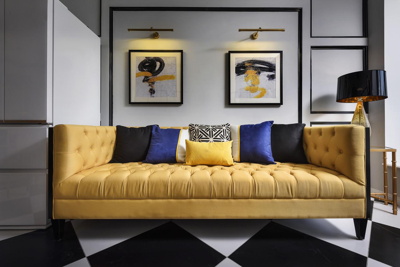 60平小户型设计沙发图片