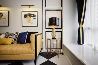 60平小户型设计客厅一角