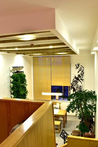 60平Loft风格装修窗帘图片