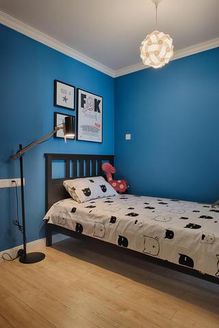 混搭二居室之家次卧背景墙图片