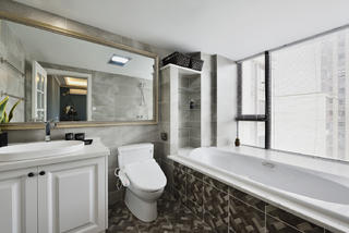 北欧公寓风装修卫生间效果图