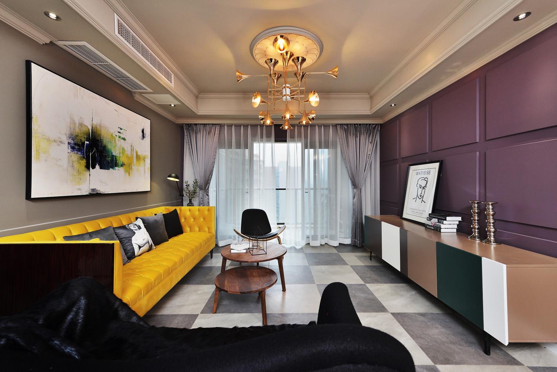 北欧公寓风装修客厅效果图