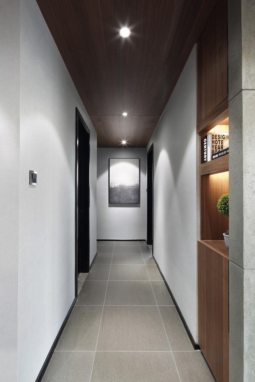 198平现代风格装修卧室过道