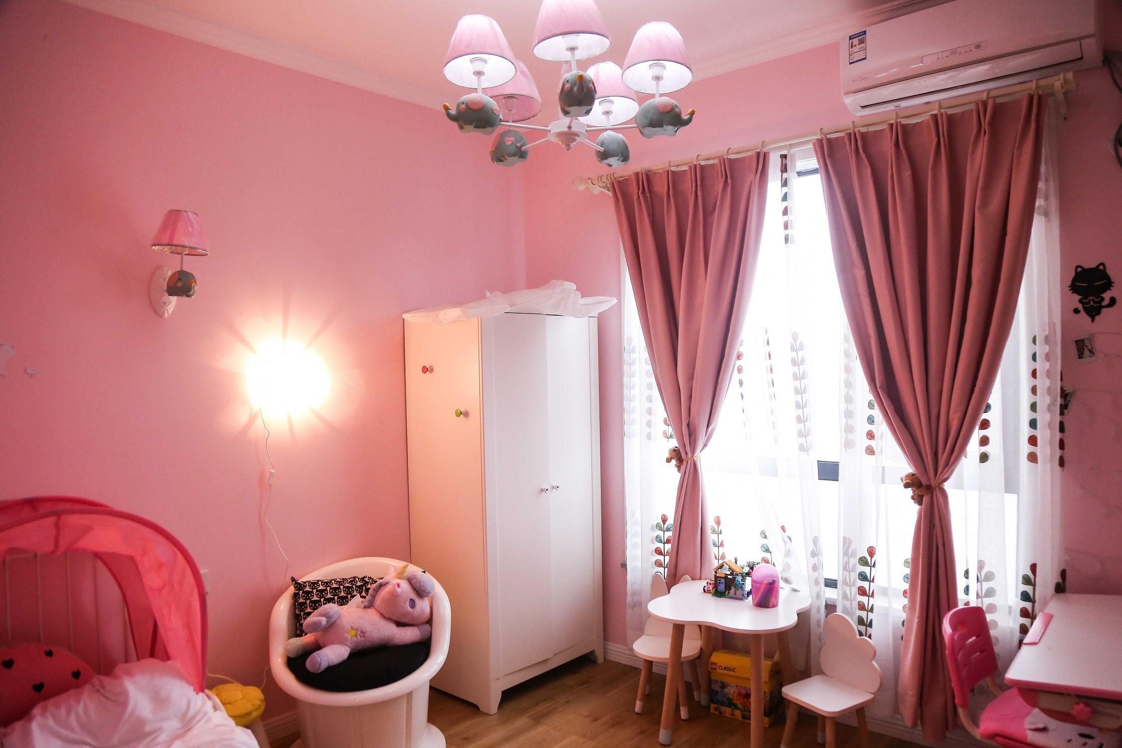 北欧温馨二居装修儿童房设计图