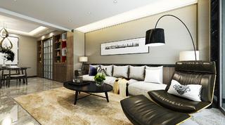 70㎡现代简约家沙发图片