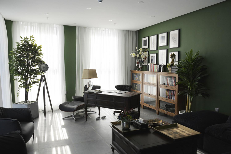 混搭办公室装修单独办公区