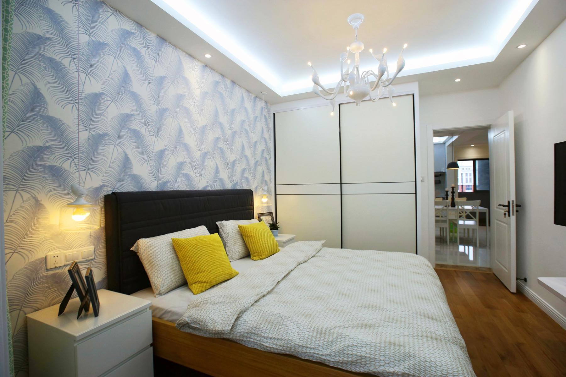 北欧三居装修卧室效果图