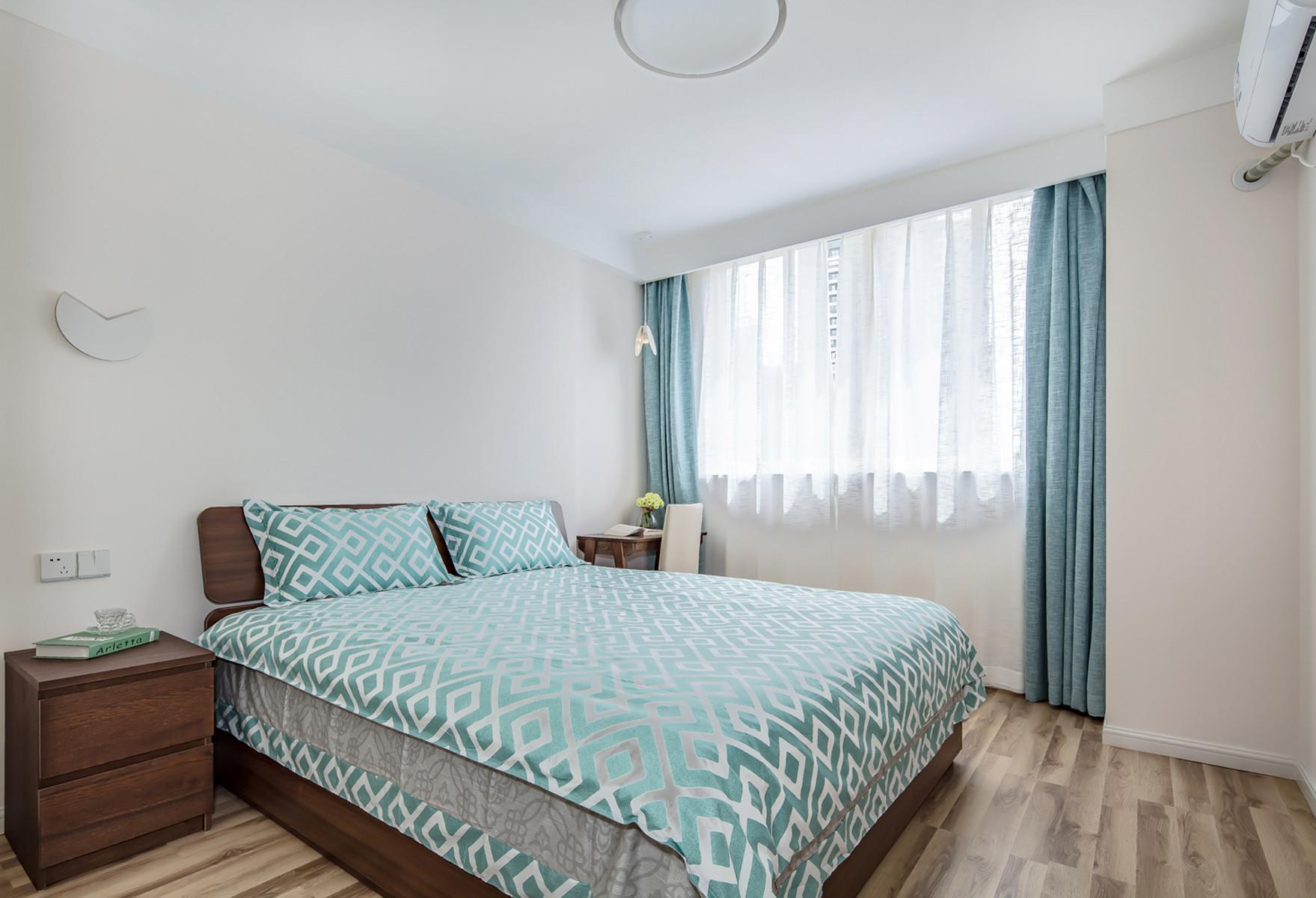 80平北欧之家卧室效果图
