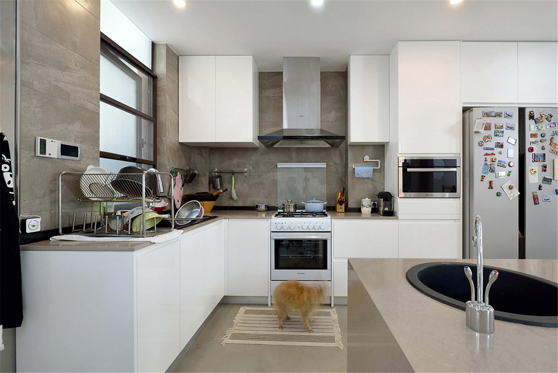200㎡复式混搭装修厨房效果图