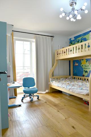北欧风格三居装修儿童房设计图