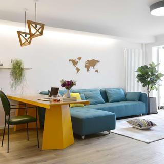 北欧风格三居装修实景图