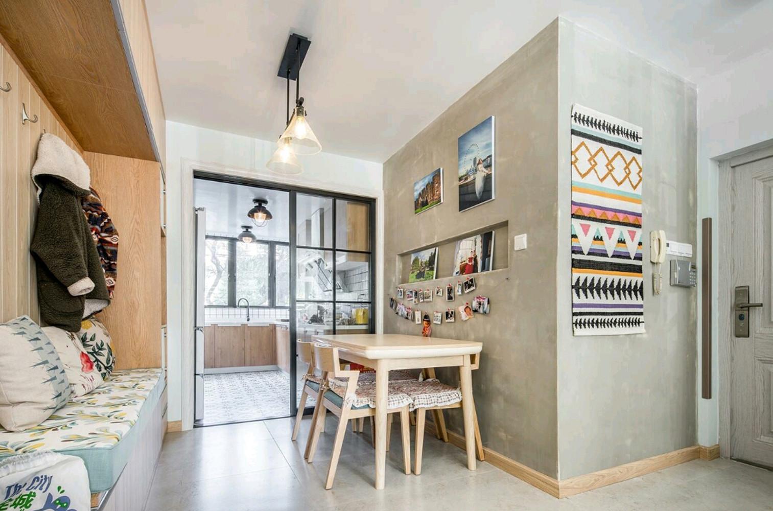 北欧二居装修餐厅设计图