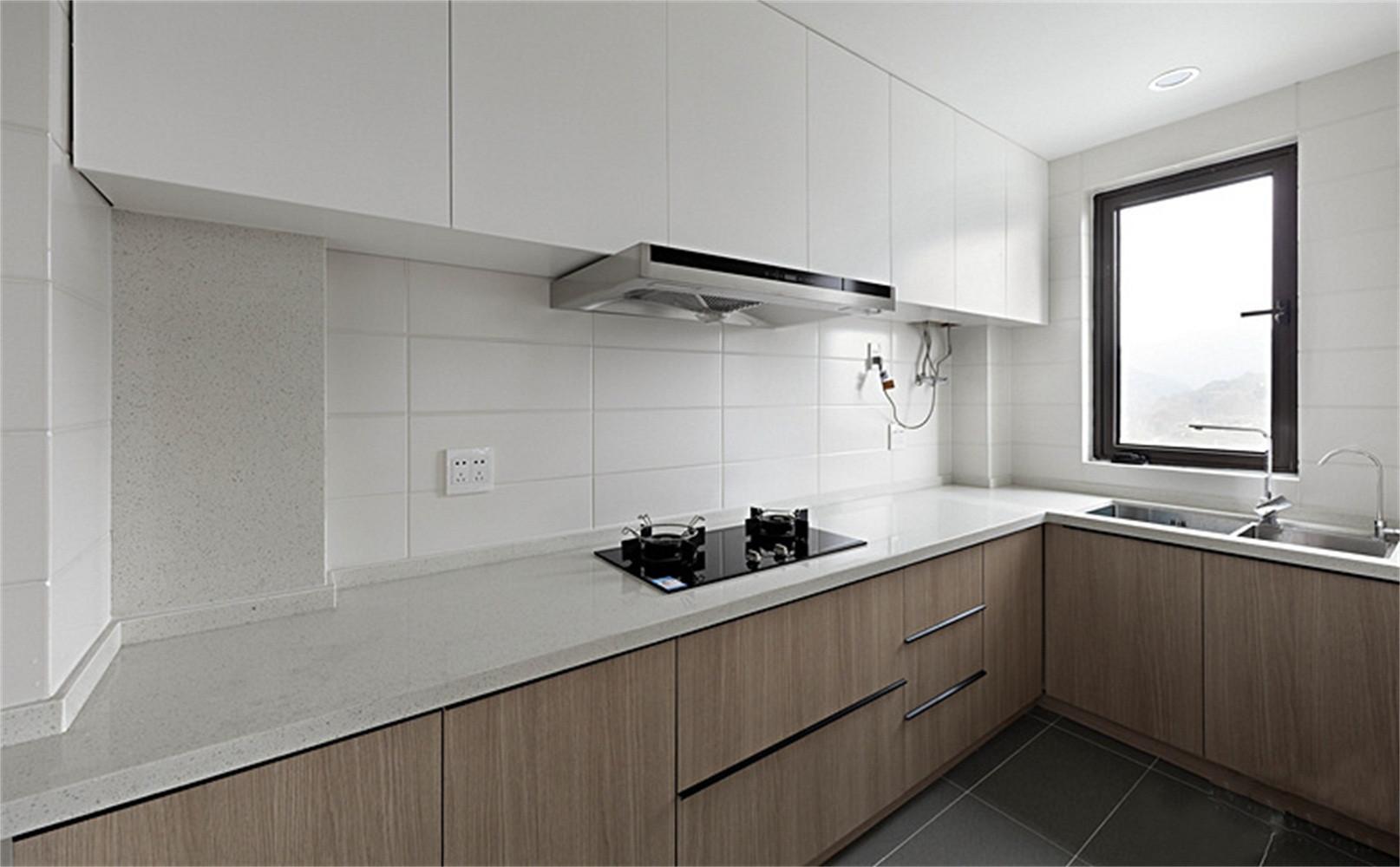 90平北欧风格家厨房设计图