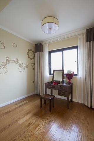 105平美式二居装修梳妆台图片