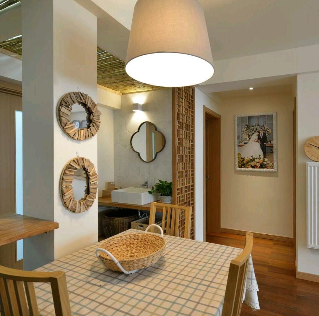 二居室日式风格家餐厅设计图