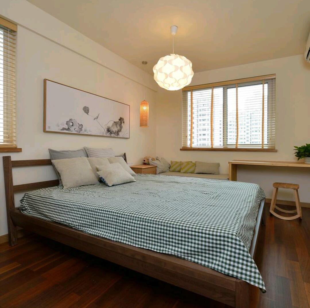 二居室日式风格家卧室效果图