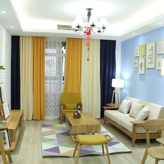 二居室北欧风格家 丰富饱满