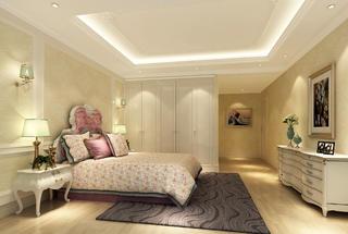 古典中美式混搭装修卧室效果图