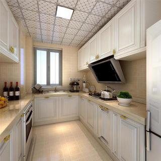简欧四房装修厨房设计图