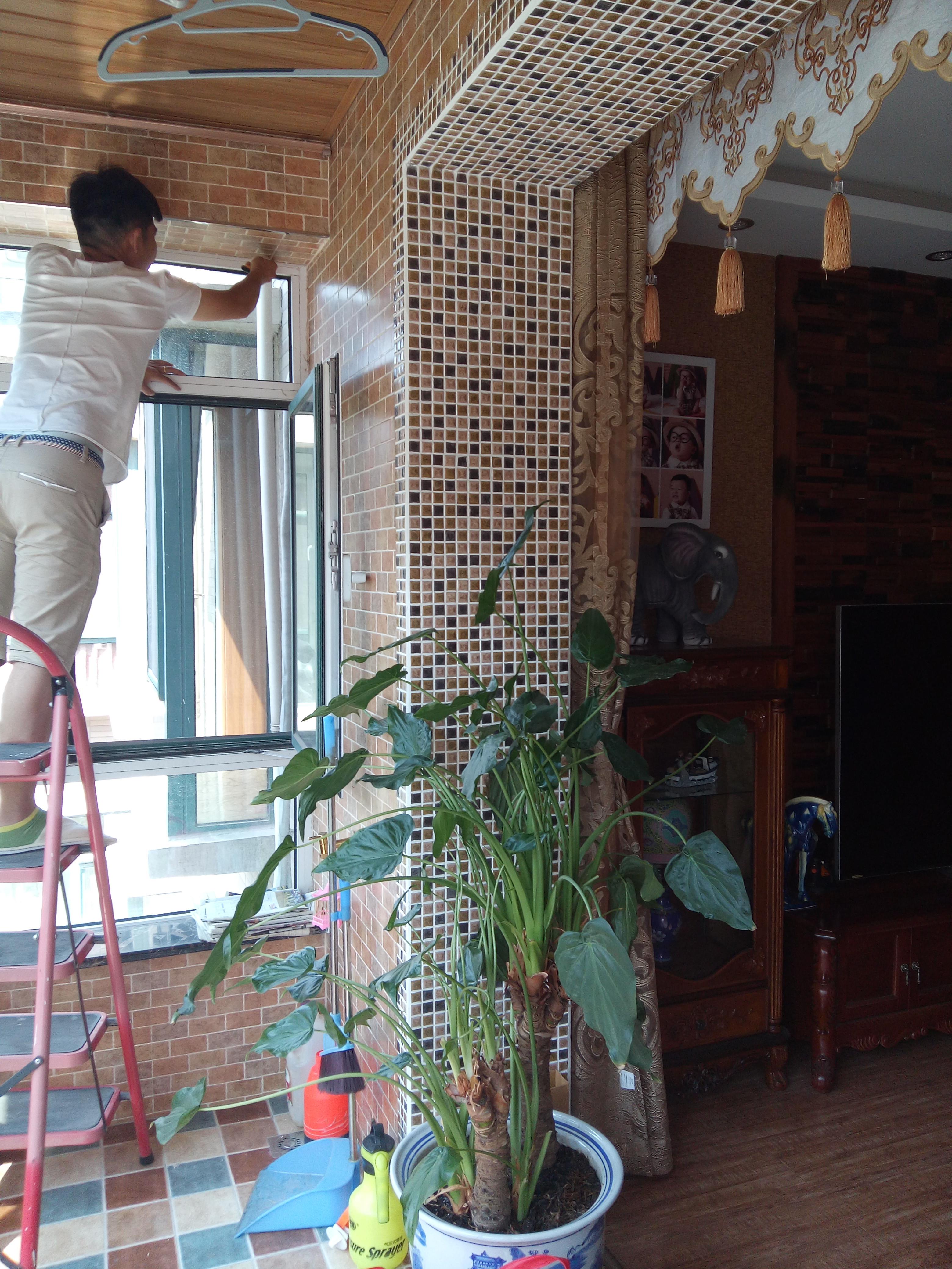 130㎡东南亚风格装修阳台图片