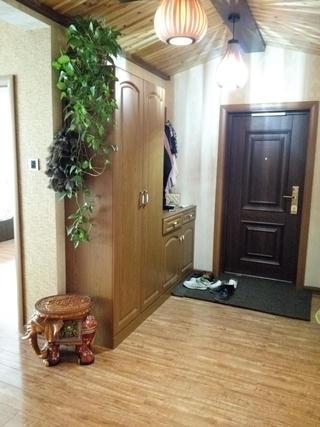 130㎡东南亚风格装修门厅图片