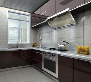简美别墅装修厨房设计图