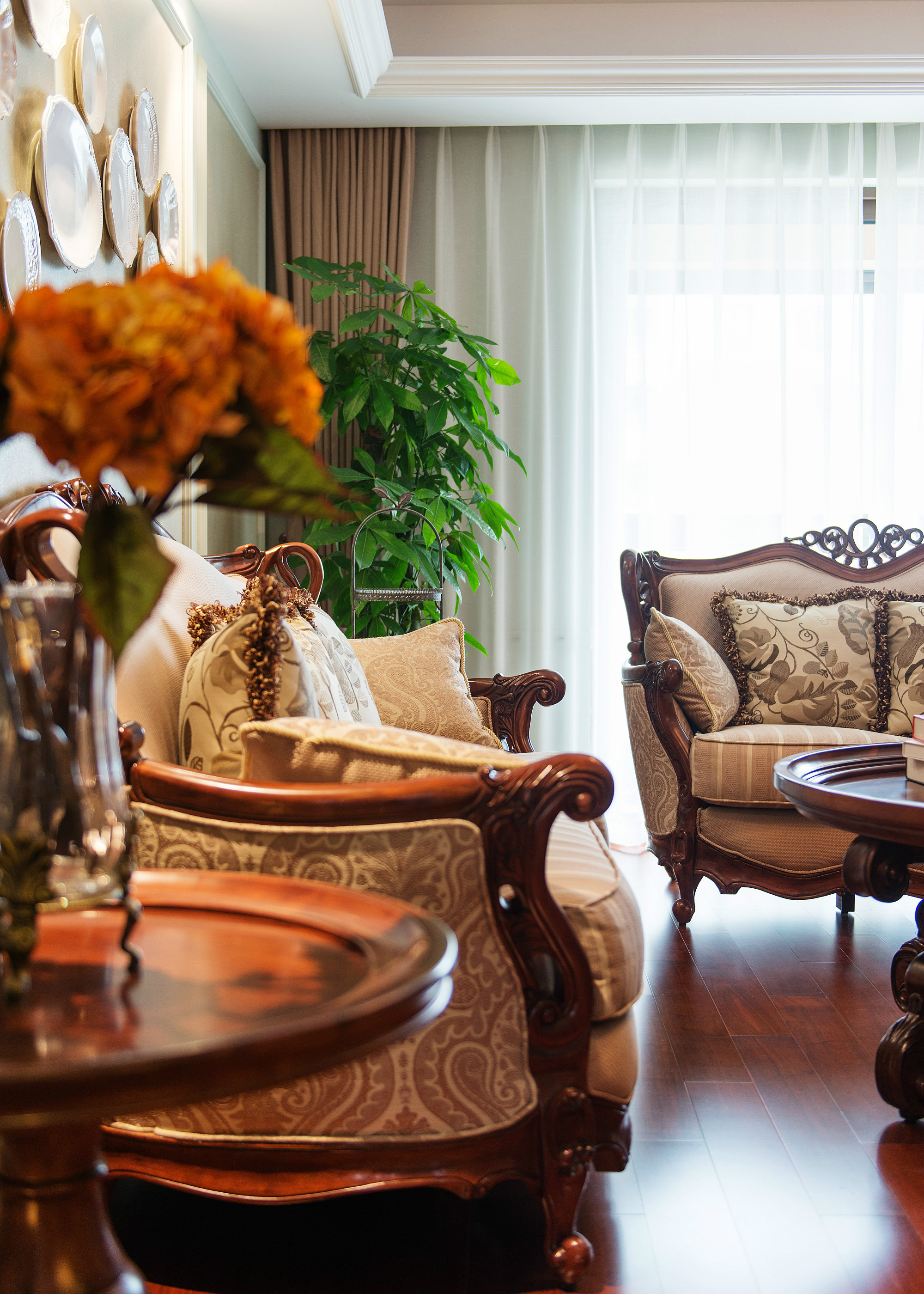 欧式四房装修沙发图片