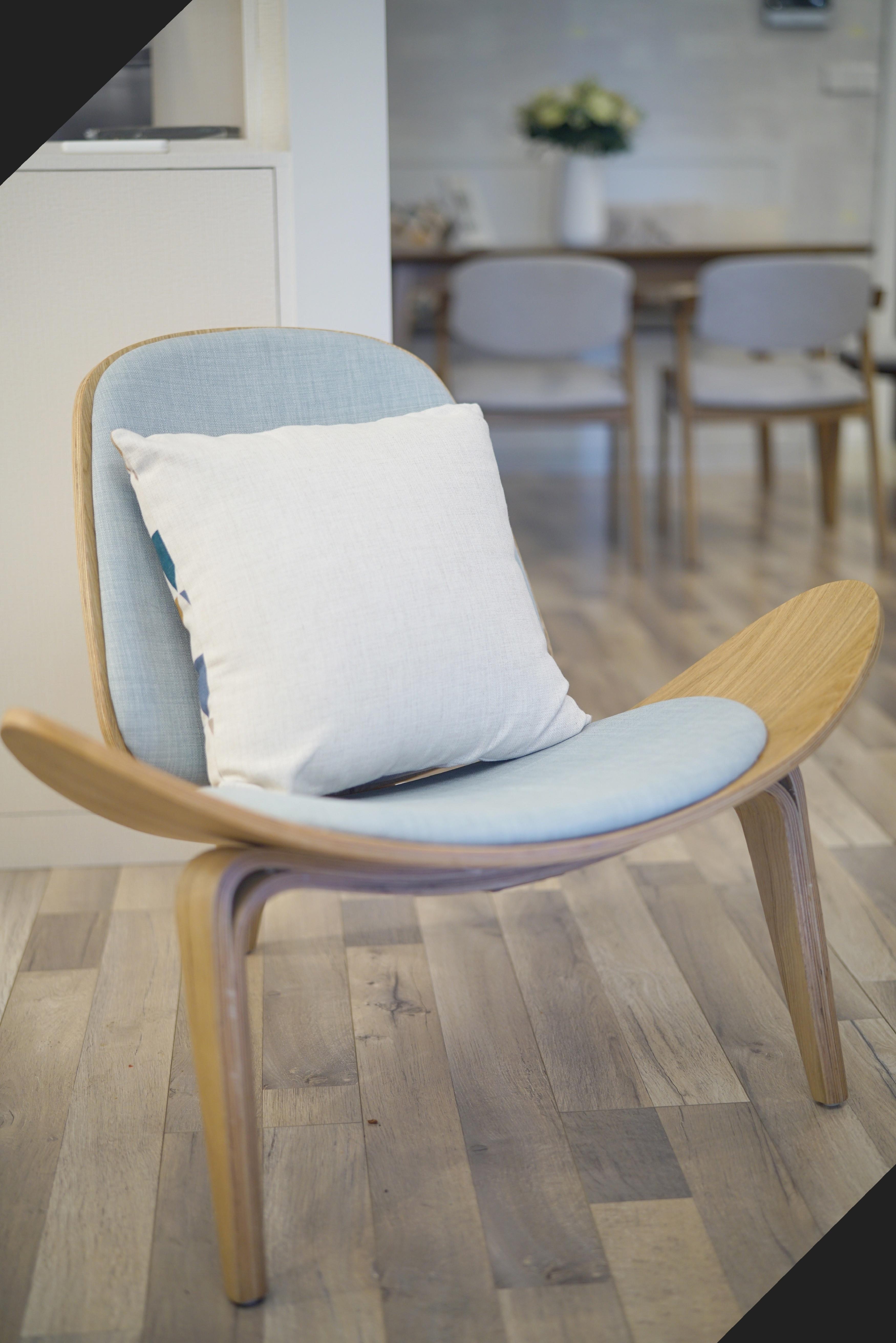二居室北欧风格家单椅图片