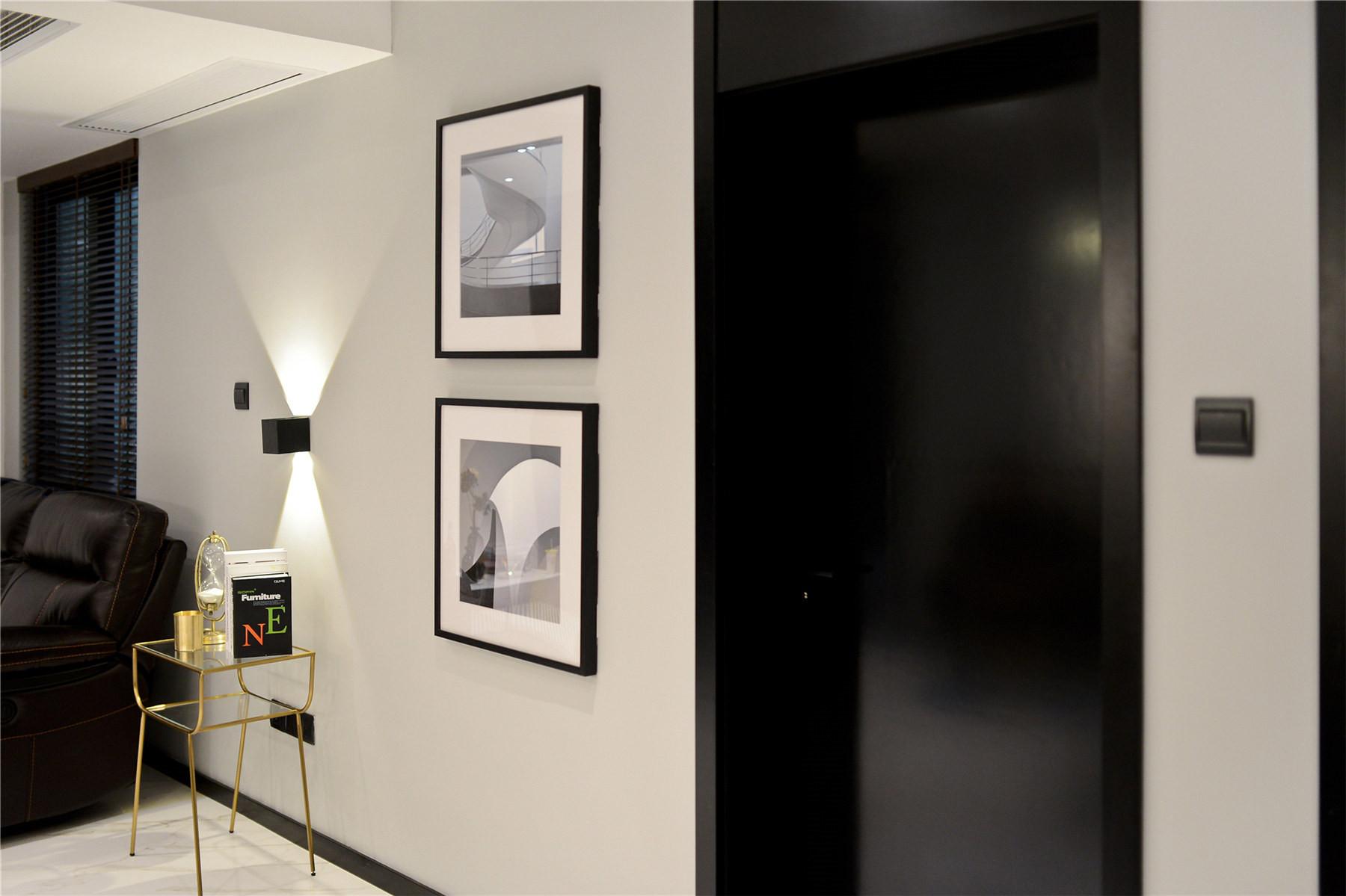 黑白简约风装修装饰画图片