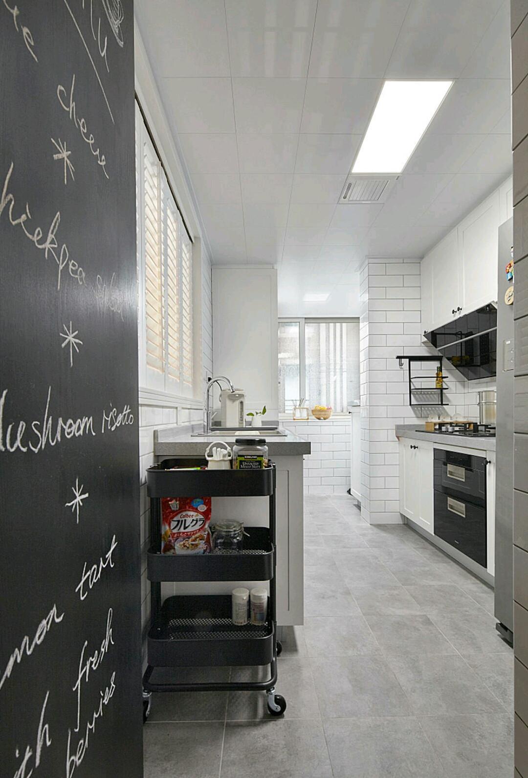 北欧四房装修厨房装潢图