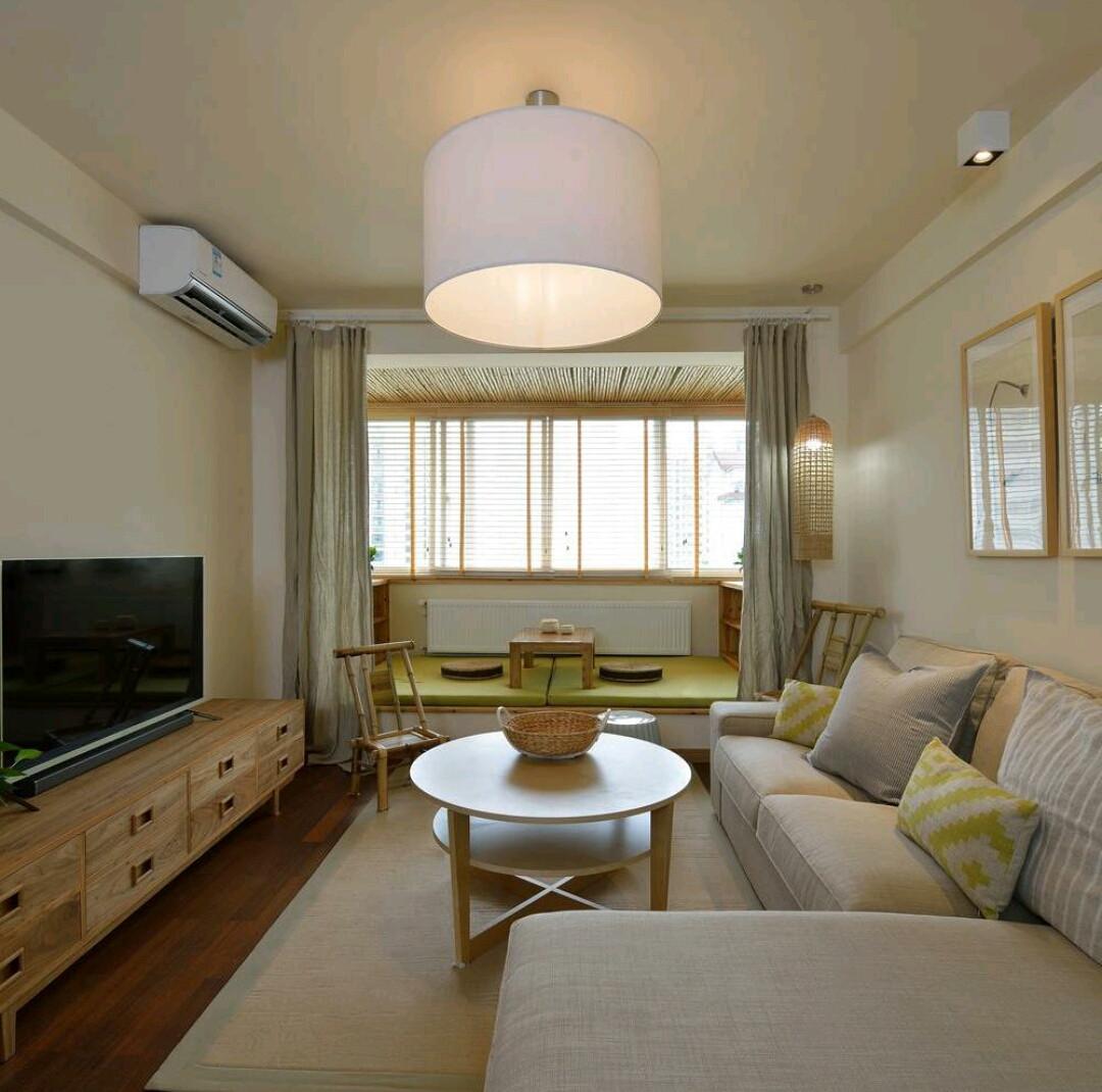 二居室日式风格家客厅设计图