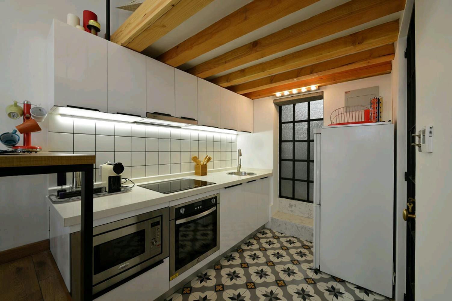 50平小户型装修厨房设计图