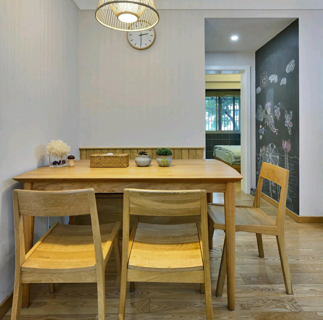 乡村日式三居之家餐桌图片