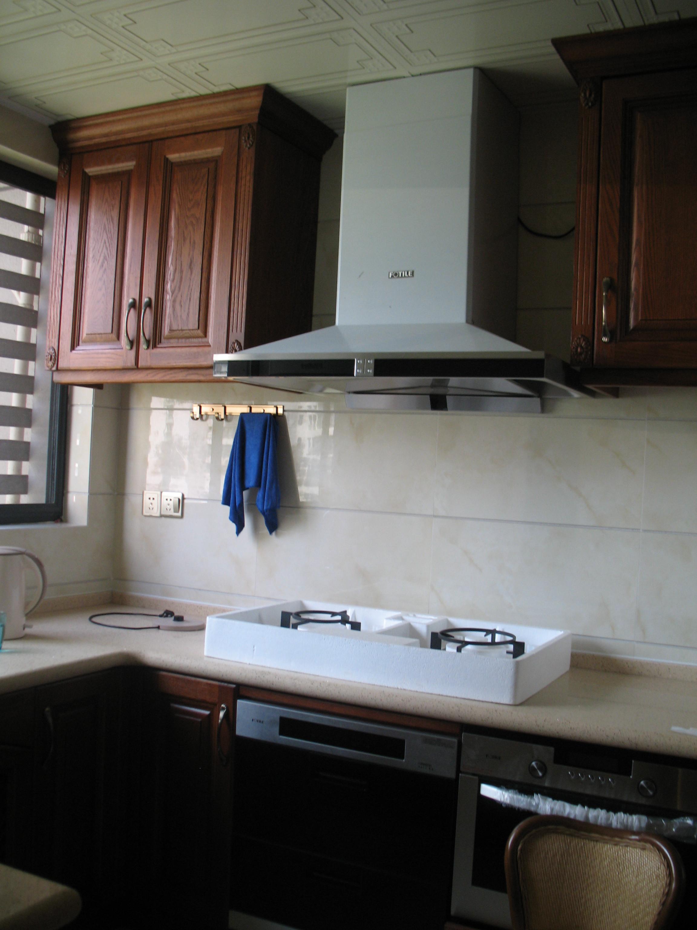135平中式风格装修厨房图片