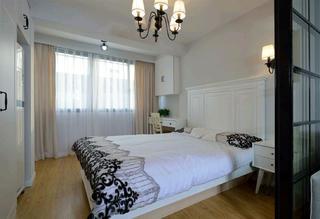 北欧二居之家床头背景墙图片