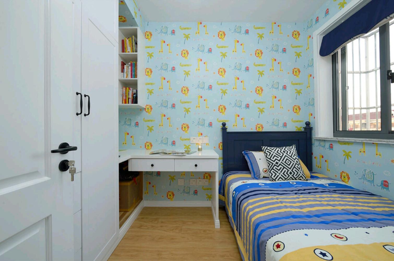 北欧二居之家儿童房效果图