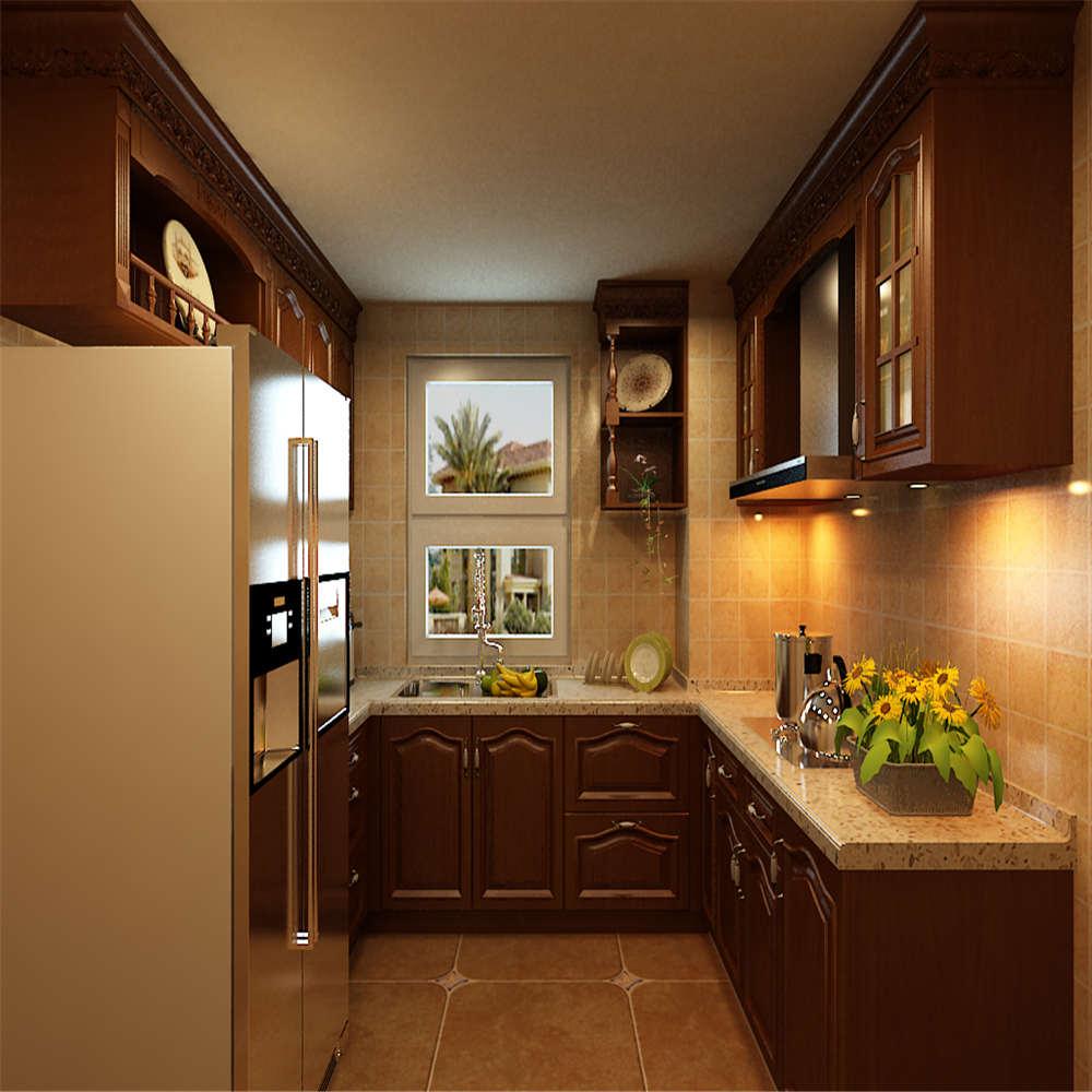 195平中式装修厨房欣赏图