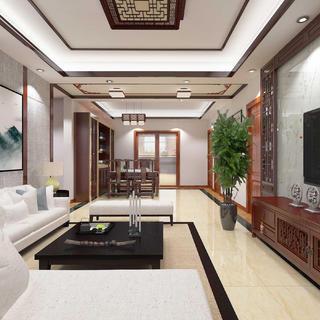新中式三居之家 明亮大气