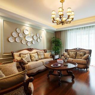欧式四房装修效果图 美观舒适