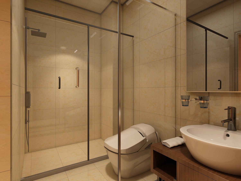 中式四房装修卫生间装潢图