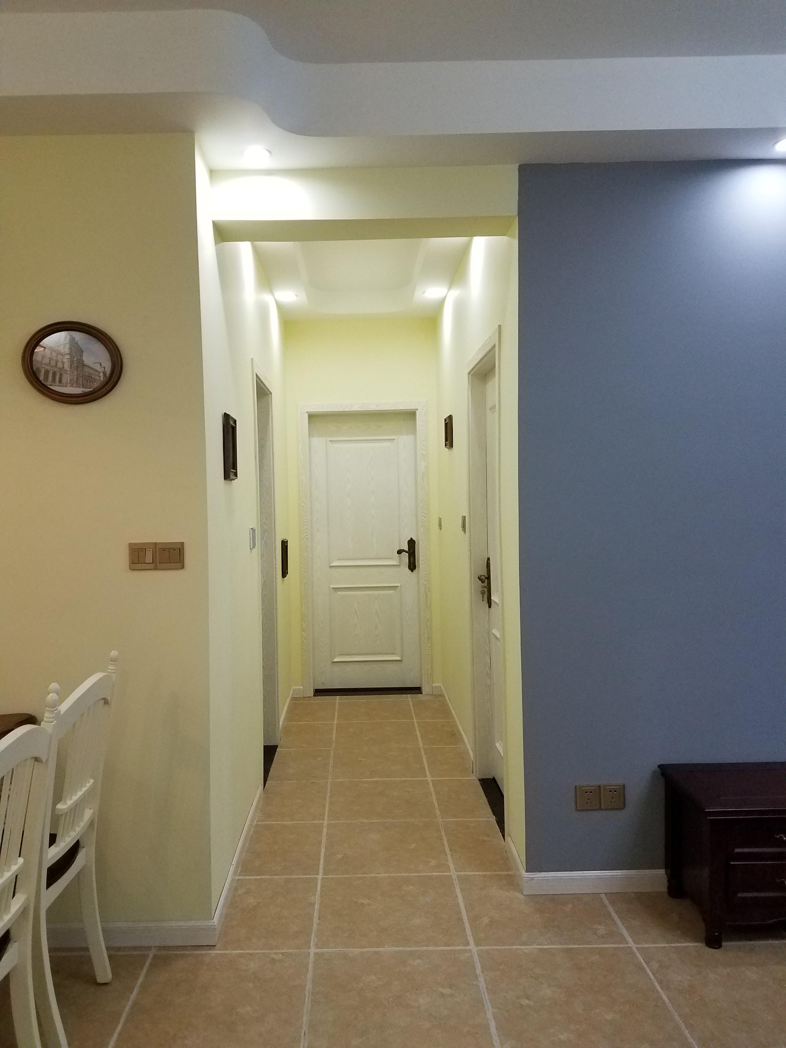 美式二居装修过道图片