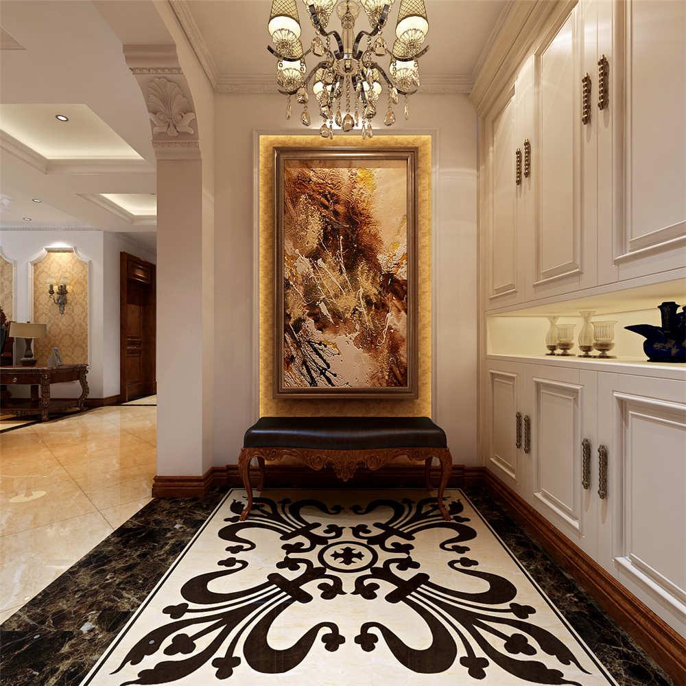 150平简欧风格装修门厅装潢图