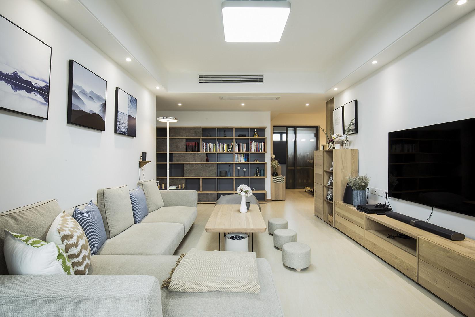日式优雅清美四居装修客厅效果图