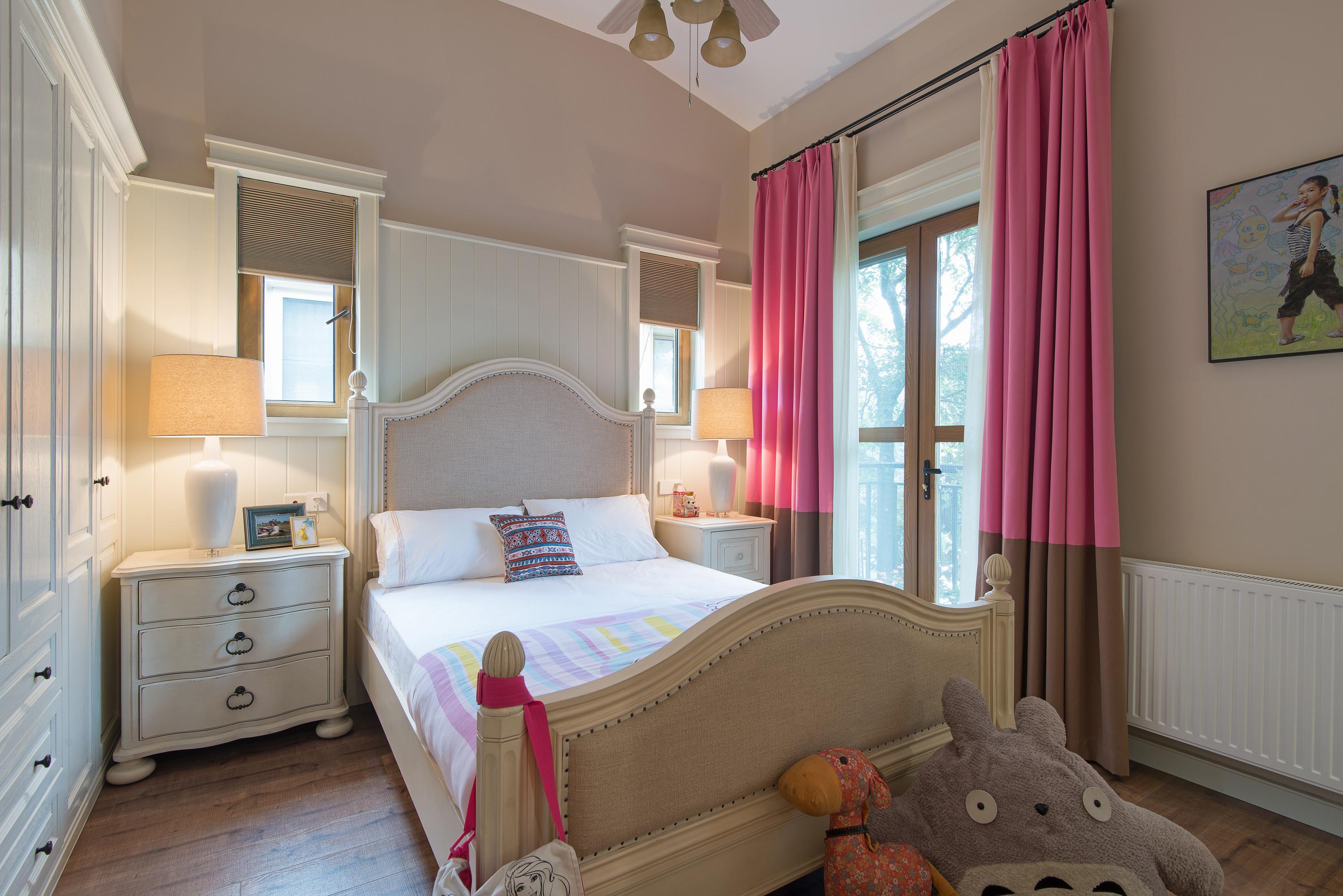 美式别墅装修儿童房设计图