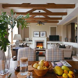 美式别墅装修效果图 温暖醇和